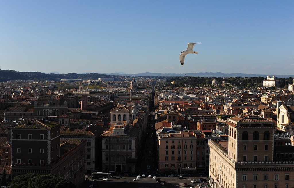 Terrace of the Chariots or Terrazza delle Quadrighe | Flickr
