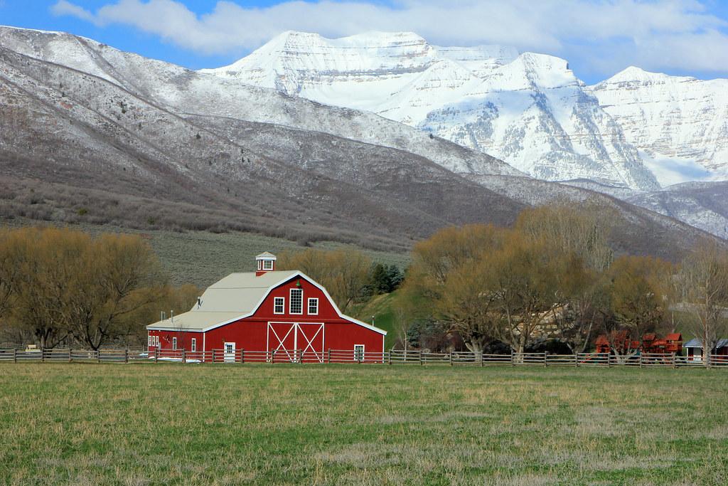 Red Barn In Wallsburg Utah Johnny Adolphson Flickr