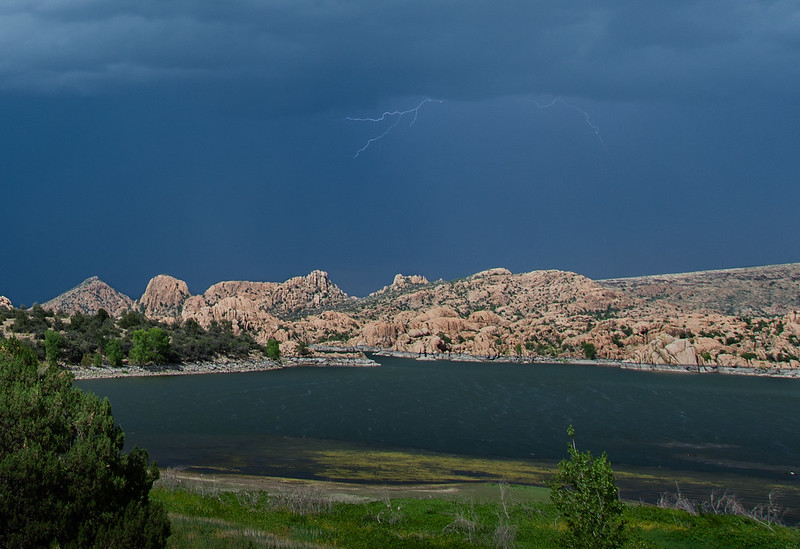 Lightning Over Watson Lake
