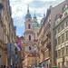 Прага. Церковь Святого Микулаша в Малой Стране