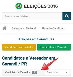 candidatos sarandi