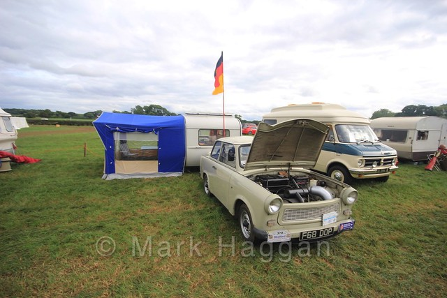 A Trabant at the Shakerstone Festival 2016