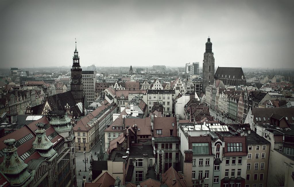 Panorama de Wroclaw par Chris Eisenbahner