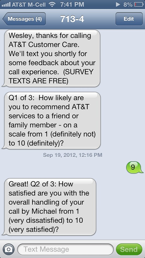 recommendation text messaging Personalize your message by addressing your email to a specific person and using their name in fact i like to use their name twice, once when addressing them at the beginning of the email and.