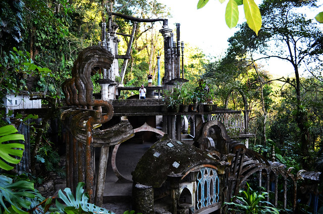 Las pozas jardin surrealista de edward james xilitla for Jardin surrealista xilitla