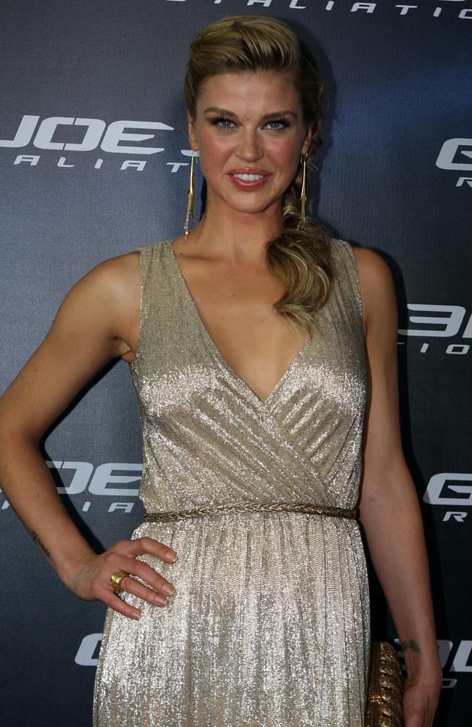 Adrianne Palicki G I Joe Retaliation Red Carpet