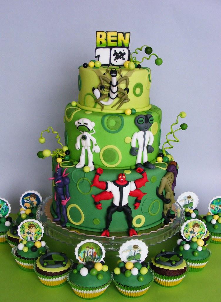 Goldilocks Birthday Cakes Designs For Boy : Ben 10 cake and cupcakes ????????? ?? www.bubolinkata ...