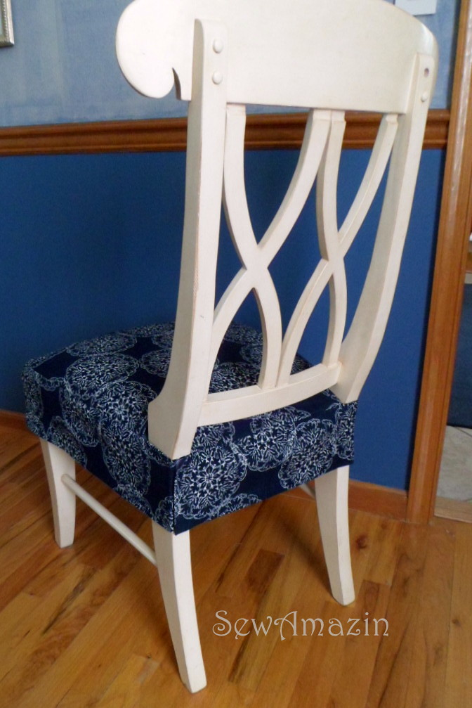 Diy Seat Covers For Kitchen Chairs