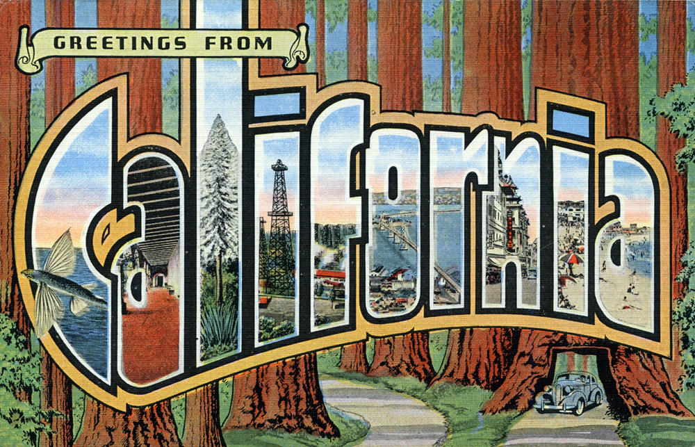 Greetings from california large letter postcard producti flickr greetings from california large letter postcard by shook photos m4hsunfo
