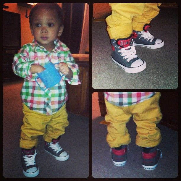 Taylor #swag #cute #baby #boy #allstar #converse #gap | Flickr