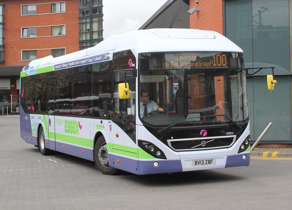First group buses essex.