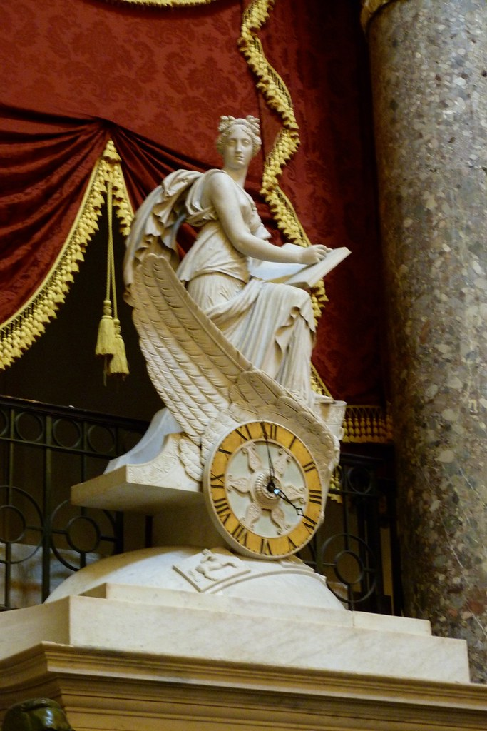 Clio, the muse of History in National Statuary Hall | Flickr ...