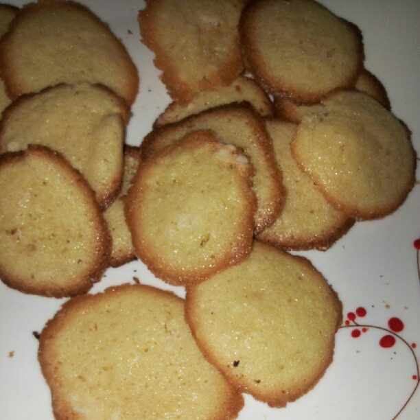 Vanilla-lemon cookies. Gluten-free. | Bryan Alexander | Flickr
