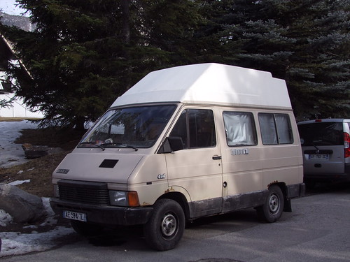renault trafic i phase 1 4x4 camping car 1985 91. Black Bedroom Furniture Sets. Home Design Ideas