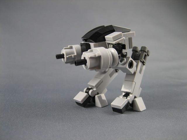 Mini Lego Ed 209 From Robocop Flickr Photo Sharing