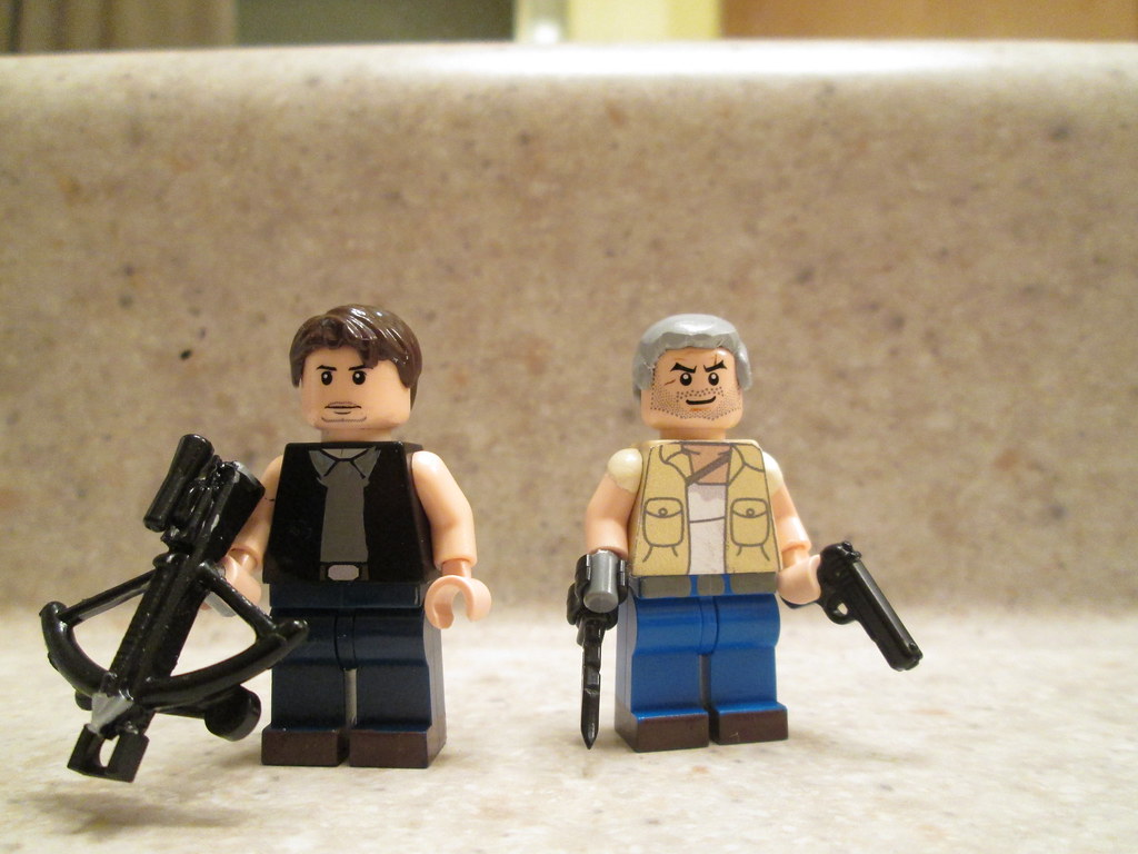 Walking dead lego daryl the walking -  Lego The Walking Dead The Dixon Brothers By Ghoulster
