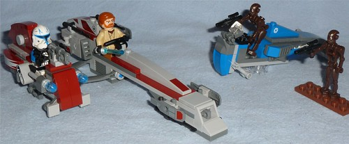 lego barc speeder with sidecar instructions