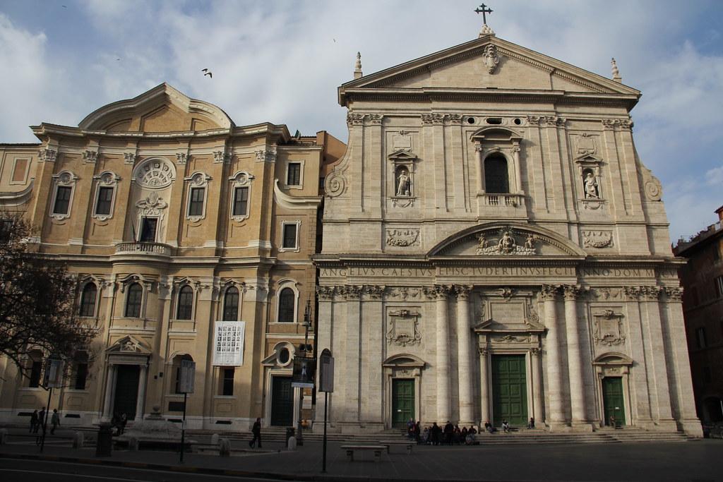 Chiesa Nuova Santa Maria In Vallicella Roma Dan Flickr