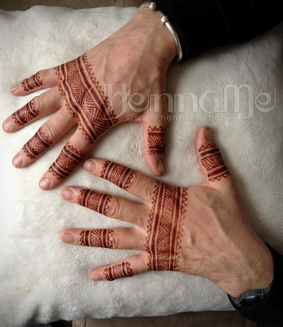 Mehndi Menswear : Moroccan inspired henna men s hands explore henname