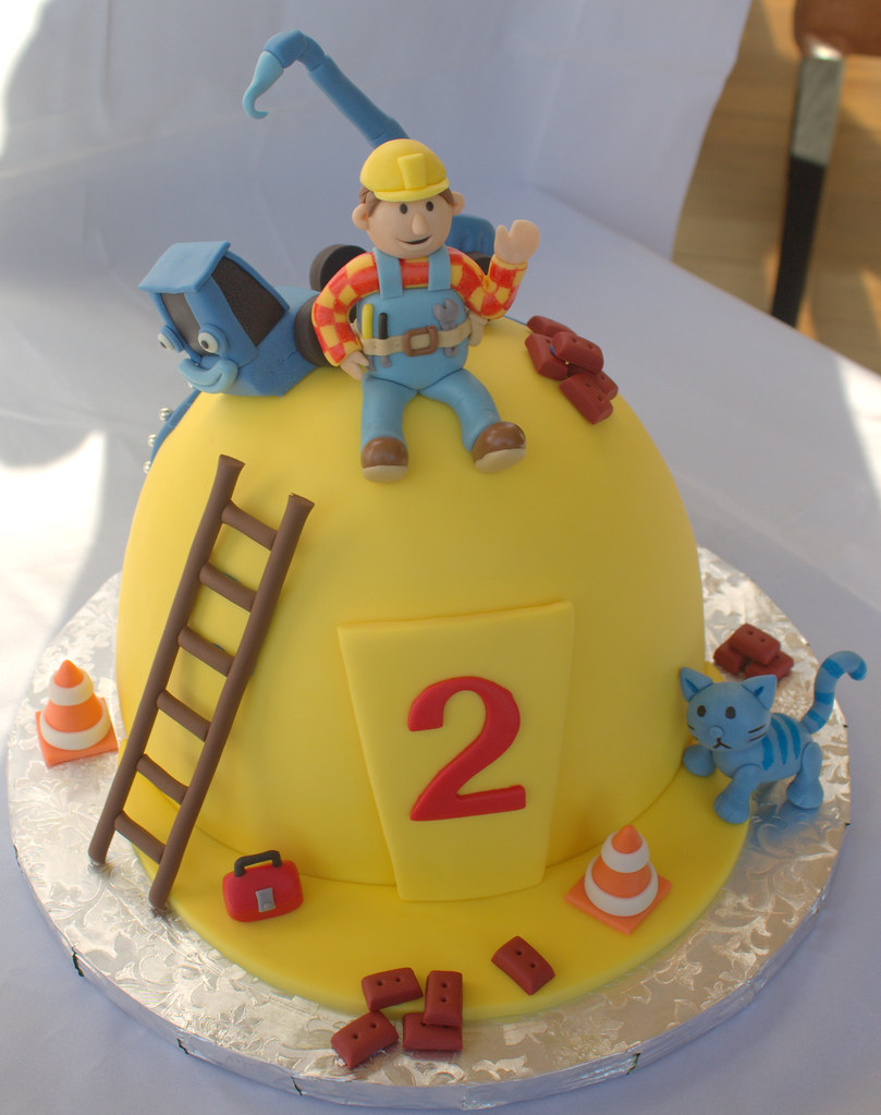 Bob The Builder Cake Ideas