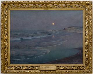 HARRISON Thomas-Alexander 1892-93 Marine, clair de lune | by PoissArt