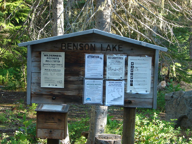 Benson Lake Trailhead