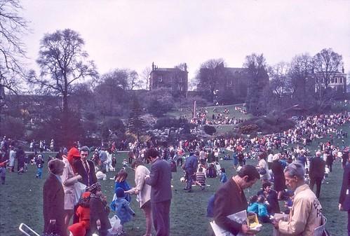 Easter Monday, Avenham Park, Preston c.1970