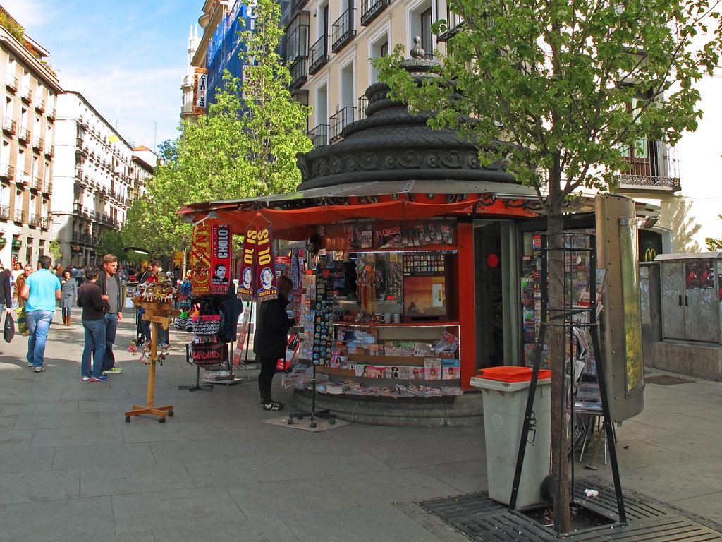 Kiosco prensa madrid quioscos con q una iniciativa - Montadores de pladur en madrid ...