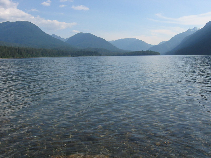 Buttle Lake, 14 Aug 2005