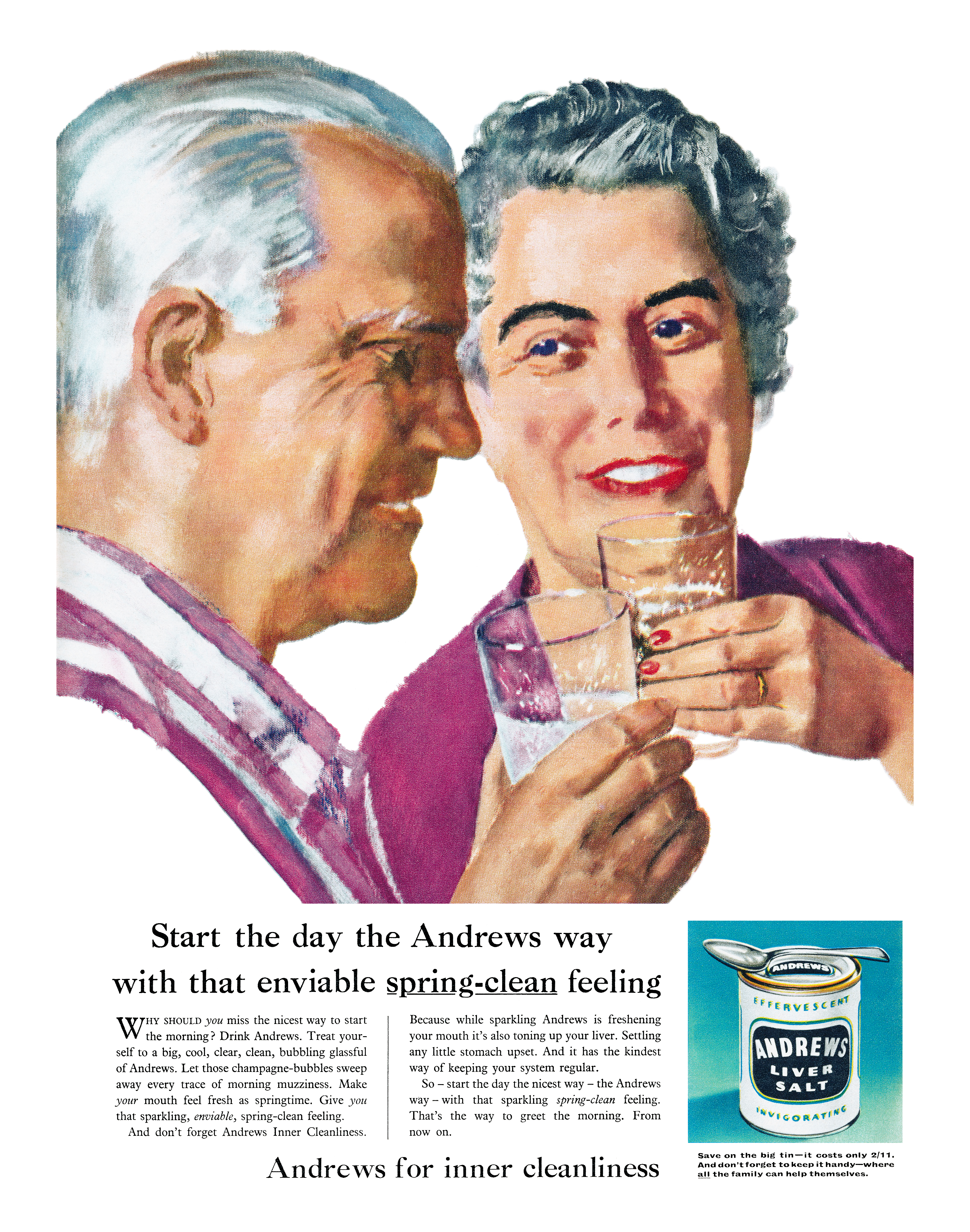 Andrews Liver Salt - 1960