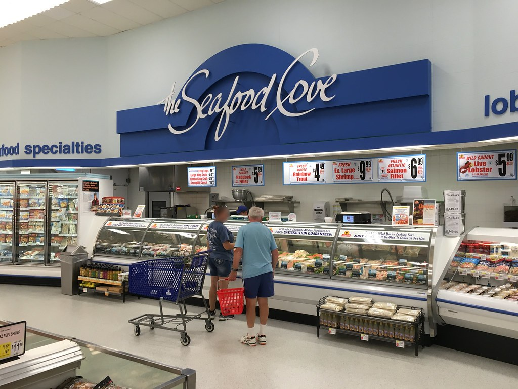 Shoprite a p super foodmart danbury ct seafood cove for Fish market ct