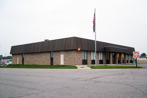 Menominee, MI post office | by PMCC Post Office Photos