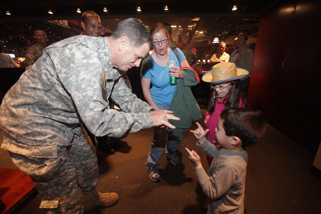Military Appreciation Day At The San Antonio Rodeo Feb 22