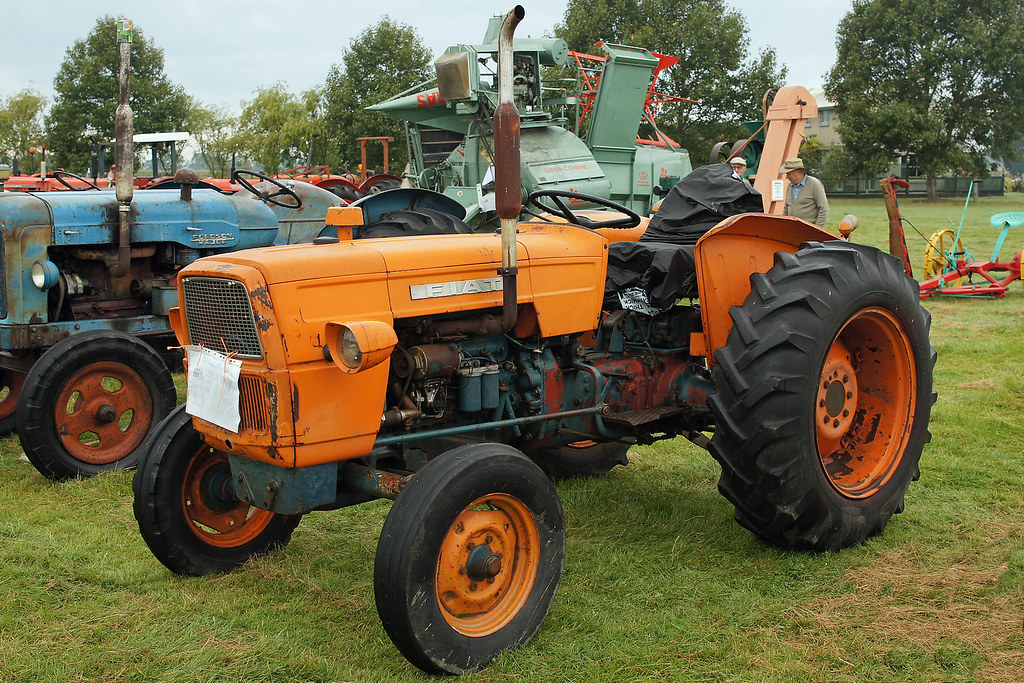 1963 Fiat 415 Tractor The South Canterbury Steam