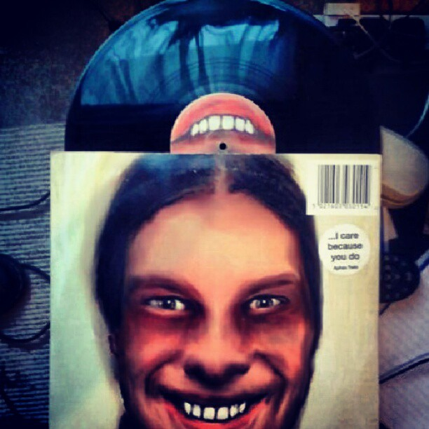 I Care Because You Do APHEX TWIN Warp LP 1995  | cool bloke