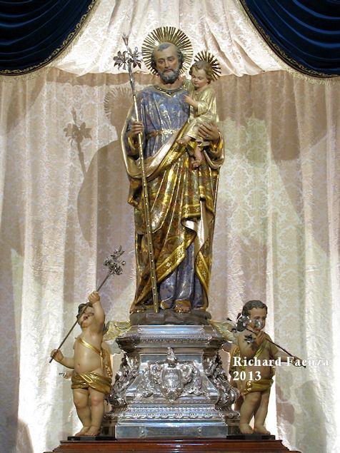 Saint Joseph The Beautiful Statue Of Saint Joseph