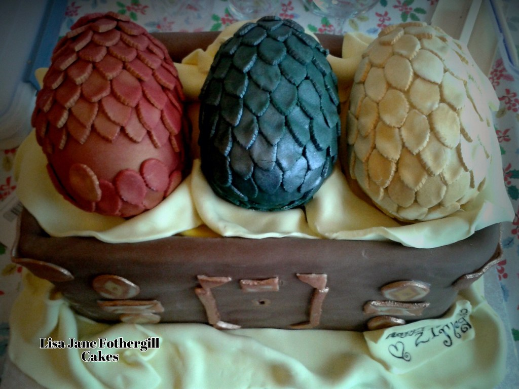 Dragon Eggs Cake Game Of Thrones Happy 21st Birthday To