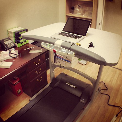Office treadmill desk