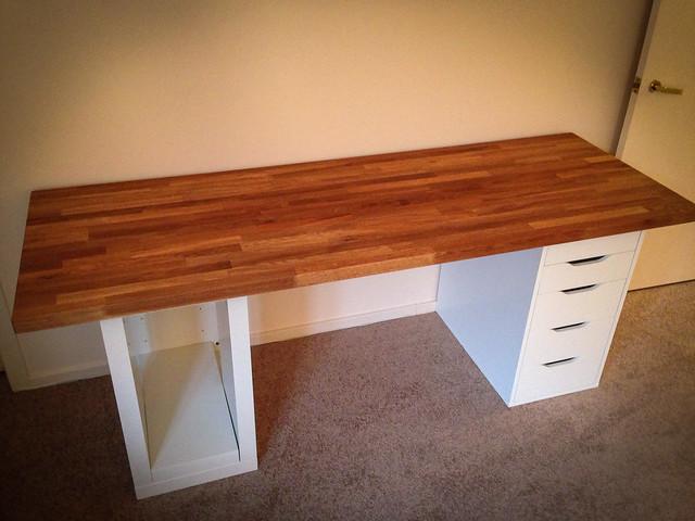 ikea numer r counter desk flickr photo sharing. Black Bedroom Furniture Sets. Home Design Ideas