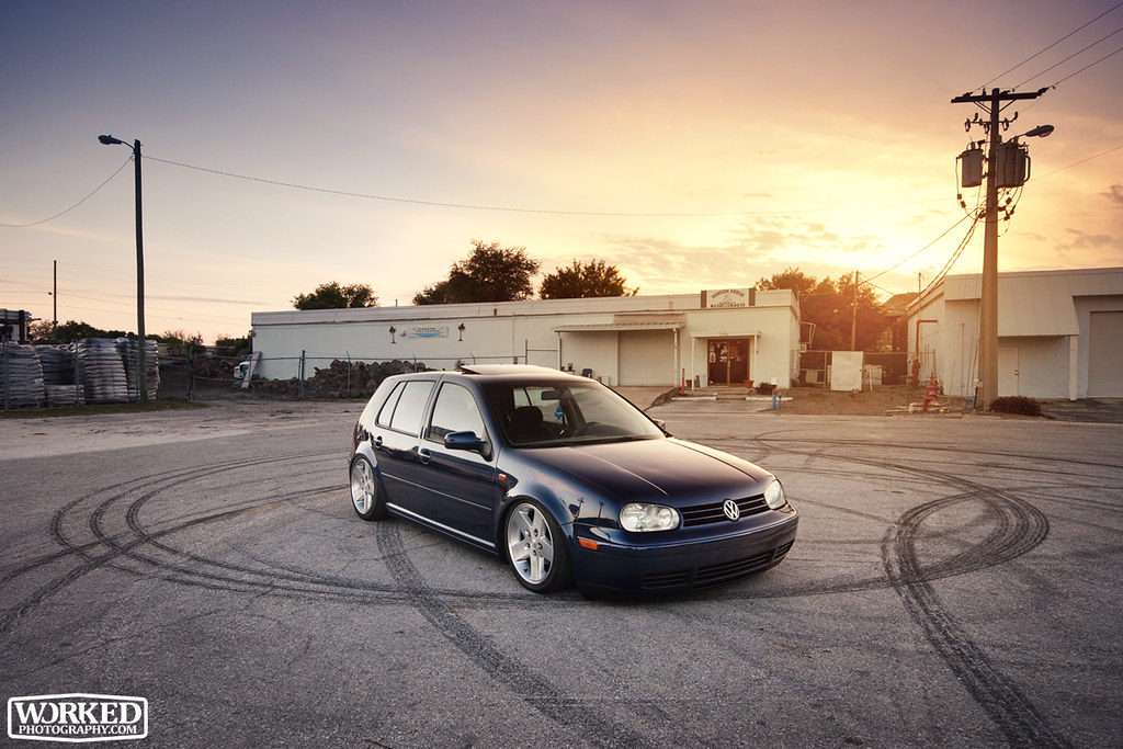 New Golf R >> Bagged MK4 Golf | ***Do not crop or edit any of my photos ...