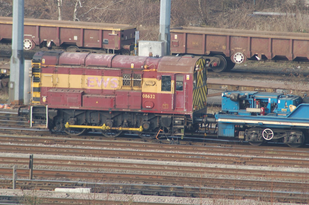 Db Schenker Class 08 08632 Toton Yard Db Schenker