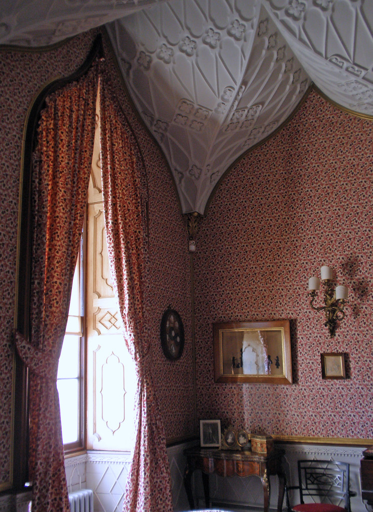Castle ward gothic interior is an th