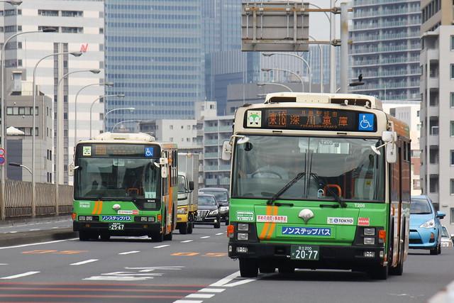 2016/08/12 東京都交通局 T205/W445