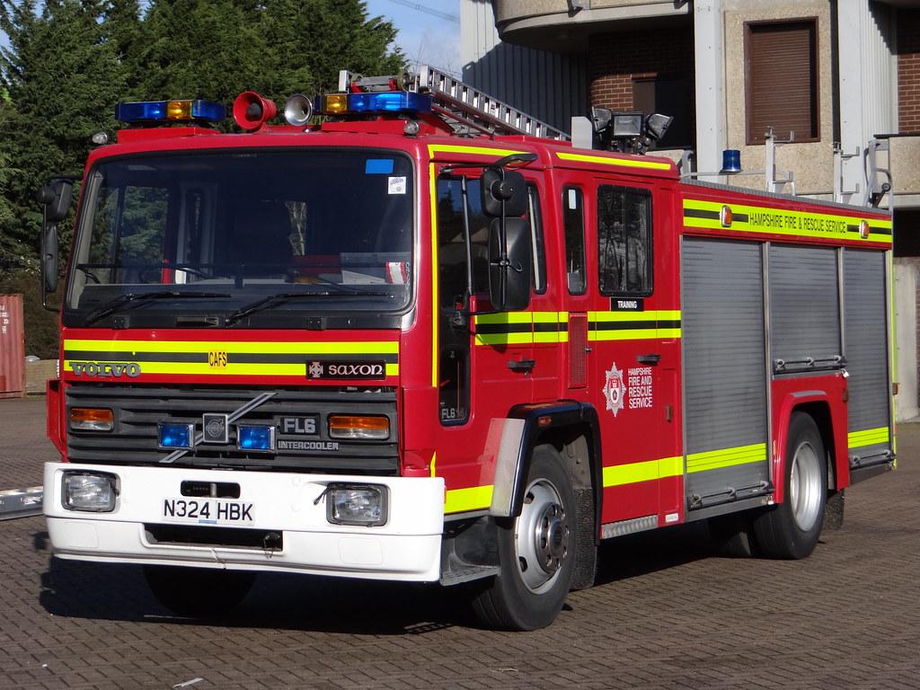 Hampshire Fire Amp Rescue Service Volvo Cafs Rescue Pump