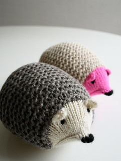 Whit's Knits: Knit Hedgehogs | by the purl bee
