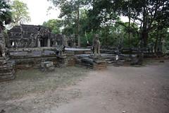 Outside Banteay Kdei