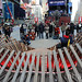 Heartwalk Pavilion Opens in Times Square