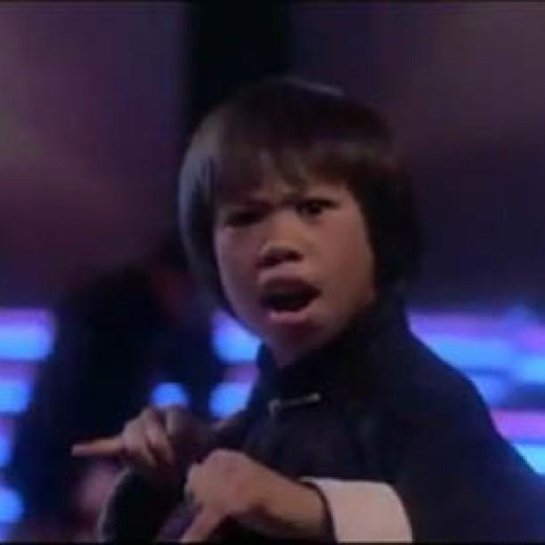 Young Ernie Reyes Jr (@erniereyesjr) about to kick some A ...