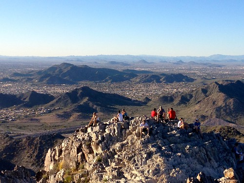 View from Piestewa Peak in Phoenix Arizona top hikes in the phoenix area phoenix hiking trails blog