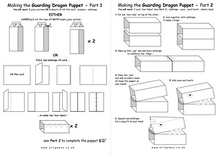 Guarding Dragon Puppet - Parts 1&2 | by jimartgames